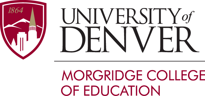 Denver University Morgridge College of Education logo